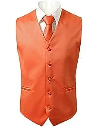 Judi Dench@ Hombres 3 pedazos atan el chaleco cuadrado de bolsillo para el vestido o