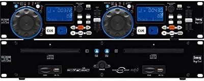 MONACOR 212990 Dual CD Player