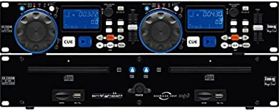 IMG STAGE LINE CD DE DJ 230 USB DOBLE DE CD Y REPRODUCTORES DE MP3 2077