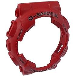 Casio G-Shock Bezel Rot Gehäuseteil Lünette für GA-100B GA-100C GA-110FC