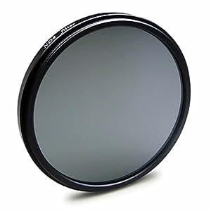 Single ND4 Filtre 72mm pour Nikon D600 | D610 - Canon EOS 50D - Sony Alpha SLT-A77 II - Olympus E-3 | E-5 et plus + Chiffon de nettoyage