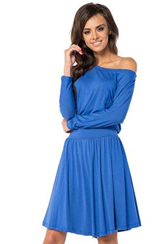 AE -  Vestito  - Maniche lunghe  - Donna Blau