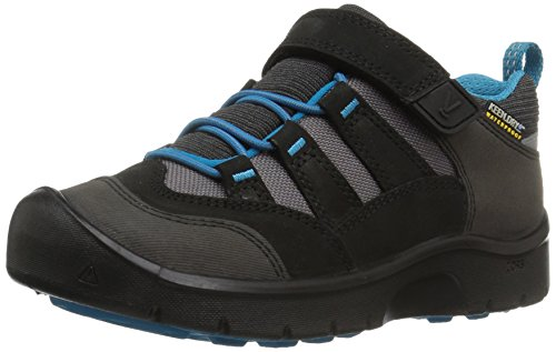 KEEN Hikeport Waterproof Junior Hiking Schuh - SS18, Black/Blue Jewel Toddler, 24 EU