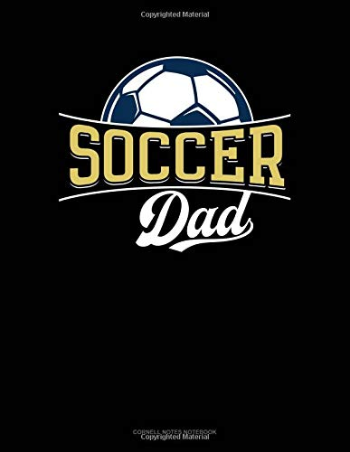 Soccer Dad: Cornell Notes Notebook por Jeryx Publishing