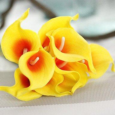 Mini Callas Fleurs de simulation du commerce extérieur en gros Vente Vitesse Tongjia Bouquet de Mariage Décoration