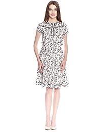 Vive Maria White Blossom Dress Kleid weiss Allover-Print