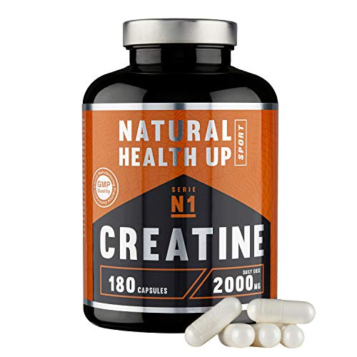 Creatina monohidratada para aumentar la masa muscular y el rendimiento deportivo -...