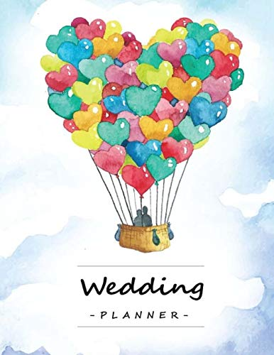 Wedding Planner: Checklist & Organizer, Budget-savvy, Essential Tools to Plan the Perfect Wedding, Worksheets, Etiquette, Calendars [Lingua Inglese]