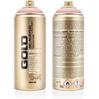 Montana Cans 283604 Spray Dose Gold 400ml, Gld400-cl2100-Shrimp Pastel