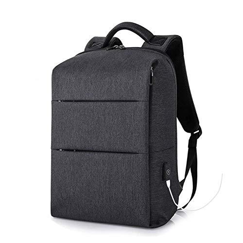 aliennoun bag Laptop-Rucksäcke für 39,6 cm (15,6 Zoll) Computer, Reisen, Gepäck, USB-Ladegerät, Schwarz / Grau Schwarz/Grau Einheitsgröße -