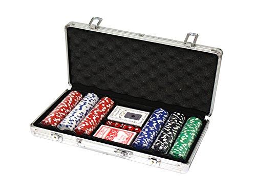 Jeu de poker à avec malette