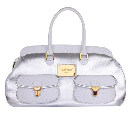 chopard-95000-0105-femmes-sac-a-main-satchel-silber-blanc