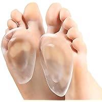 pawaca High Heel Gel Pads Fuß Gel Kissen Gel Vorfuß Massage Einlegesohle Schmerzlinderung Schuh fügt Fuß für Frauen... preisvergleich bei billige-tabletten.eu