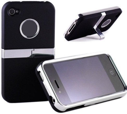 EDITION BLACK iPhone 4/4S Coque/Case + GRATIS Câble de charge USB