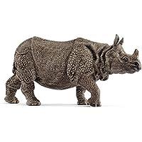 Schleich - Rinoceronte indio, color gris (14816)