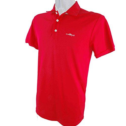 Chervo Golf Herren Polo Hemd Poloshirt Dry Matic Aurusa rot 850 neu - Dry Golf Polo