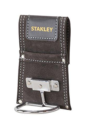 Stanley Hammerhalter aus Büffelleder mit Metallbogen