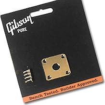 Gibson metal Jack Plate Oro (prjp de 020)