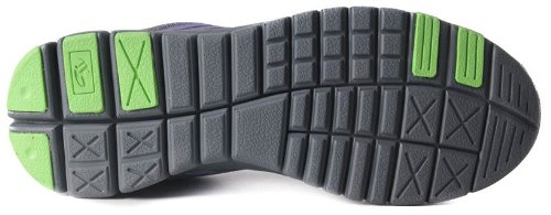 Boras , Chaussures de ville à lacets pour femme Noir Noir - Violet foncé