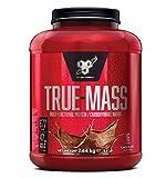 BSN True Mass Weight Gainer Eiweißmischung Pulver (enthält Whey, Casein, Glutamin und Kohlenhydrate, Protein Shake von BSN) chocolate milkshake, 16 Portionen, 2,64kg