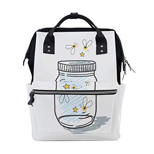 g Light Große Kapazität Wickeltaschen Mama Rucksack Multi Funktionen Windel Wickeltasche Tote Handtasche Für Kinder Babypflege Reise Täglich Frauen ()