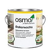 OSMO Dekorwachs Transparent 375ml Weiss 3111