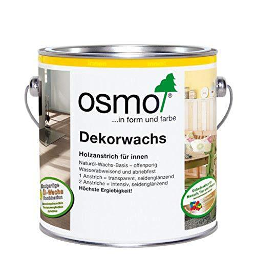 OSMO Dekorwachs Transparent 2,5 Liter Weiß 3111
