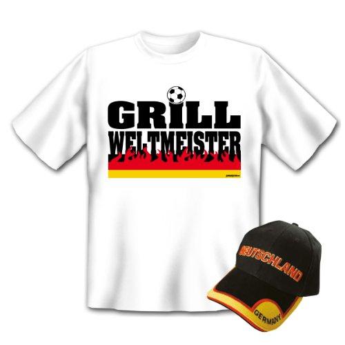 Griller Set weis Grill Weltmeister