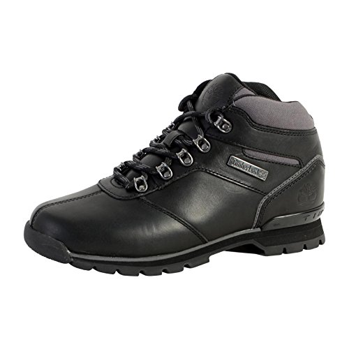 Timberland Unisex-Erwachsene Splitrock 2 A1hvq Klassische Stiefel, Schwarz (Black), 45 EU (Timberland Split Rock)