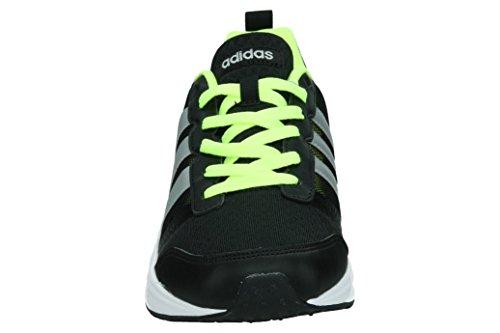 adidas Star Plus, Scarpe da Ginnastica Uomo Nero (Negbas/Plamat/Amasol)