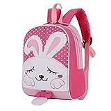 Kinderrucksack Babyrucksack Schultasche mit Anti Verlorene Seil für 1-5 jährige Jungen und Mädchen im Kindergarten