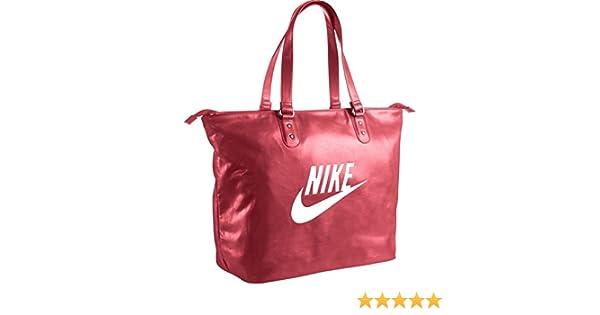 03104b0989fe Nike Heritage Si Tote Bag Tote Multi-Coloured Rio Rio (White) Size MISC   Amazon.co.uk  Sports   Outdoors
