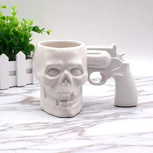 Piraten Wasser Pistole - OUH-F Kreative Schädel Pistole Form Kaffeetasse