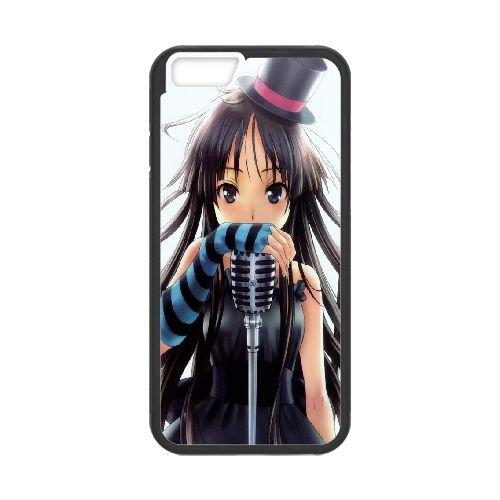 Mio Akiyama K On 001 coque iPhone 6 Plus 5.5 Inch Housse téléphone Noir de couverture de cas coque EOKXLKNBC25608