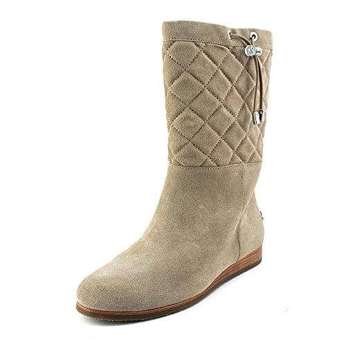 Kors Michael Kors Lizzie Quilted Mid Boot Donna US 7 Beige Stivaletto