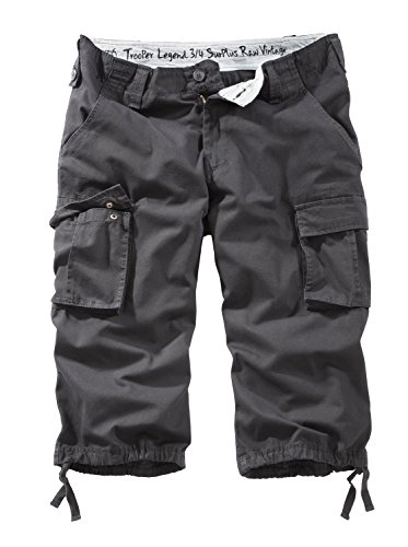 Surplus Trooper Legend 3/4 Shorts L Schwarz -