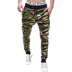 Ombre sixty-eight Entrenamiento pantalones camuflaje Pantalones Spot P183 Beige caqui