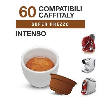 Caffitaly – 60Cápsulas de café compatibles Intenso