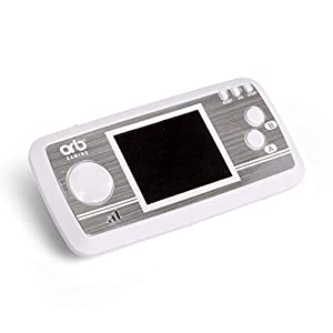 Thumbs Up Retro Consola portátil V2blanc-240X 8-bit Joux Incluye, or-rethc2, Gris/Blanco