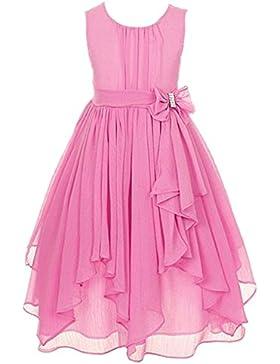 LSERVER-Vestido de Falda de Vola