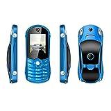 QHJ Dual Sim Outdoor Handy(1900mAh),1,8 Zoll Display,IP68 Wasserdicht,Stoßfest, Rugged Handy Ohne Vertrag mit Lautem Lautsprecher und Fahrradlicht ,TV-Empfang,Mp3/Mp4 (Blau)
