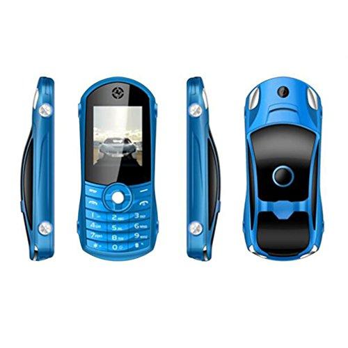 QHJ Dual SIM Outdoor Handy(1900mAh), 1, 8 Zoll Display, IP68 Wasserdicht, Stoßfest, Rugged Handy Ohne Vertrag mit Lautem Lautsprecher und Fahrradlicht, TV-Empfang, Mp3/Mp4 (Blau)