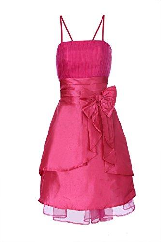 ROBLORA Damen Kleid Rosa - Fuchsia