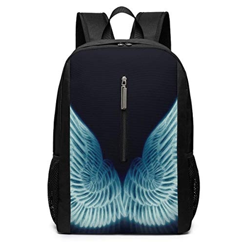 Large Wings Iconic Campus Casual Sac à Dos Sac d'ordinateur Business Daypack Sac d'ordinateur Portable Cartable Cartable 17 Pouces