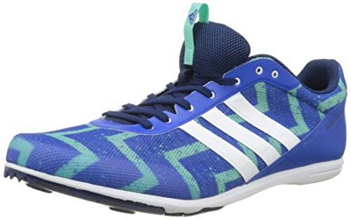 adidas Distancestar, Scarpe da Corsa Uomo, Blu (Azul/Ftwbla/Versen), 42/43 EU