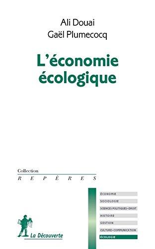 L'économie écologique par Ali DOUAI