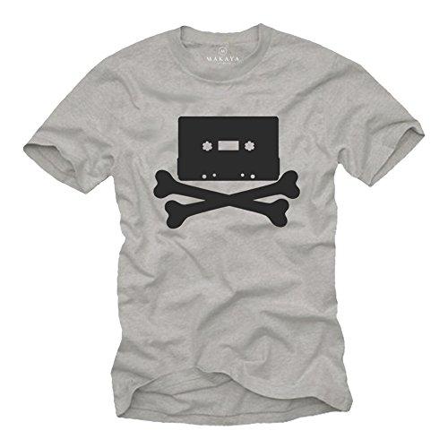 bbef2e811b2c Retro skull t shirts recherché au meilleur prix dans tous les magasins  Amazon