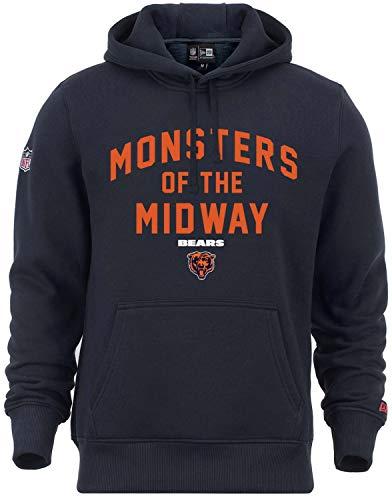 New Era - NFL Chicago Bears Monsters of The Midway Hoodie - Blau Größe M, Farbe Blau