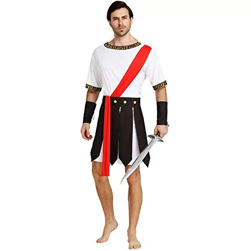 thematys Römer Krieger Gladiator Kostüm-Set für Herren - perfekt für Fasching, Karneval & Cosplay - Einheitsgröße 160-180cm
