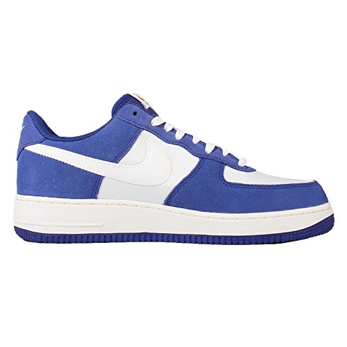 Nike  Air Force 1, espadrilles de basket-ball homme Multicolore - Azul / Blanco (Deep Royal Blue / Sail-Phantom)